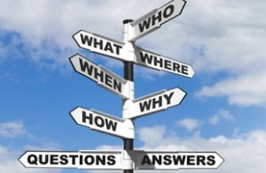 Until we ask all the right questions, we'll never find all the right answers.